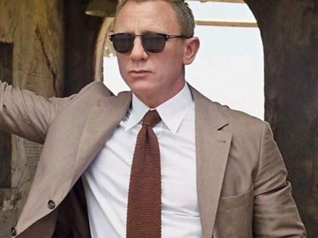 There's nothing wrong with channelling your inner Daniel Craig.