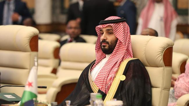 Crown Prince Mohammed bin Salman accused rival Iran of attacks on two oil tankers. Picture: Bandar Aldandani.
