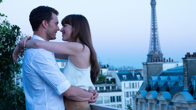 Jamie and Dakota in Fifty Shades Freed. Picture: Universal Pictures