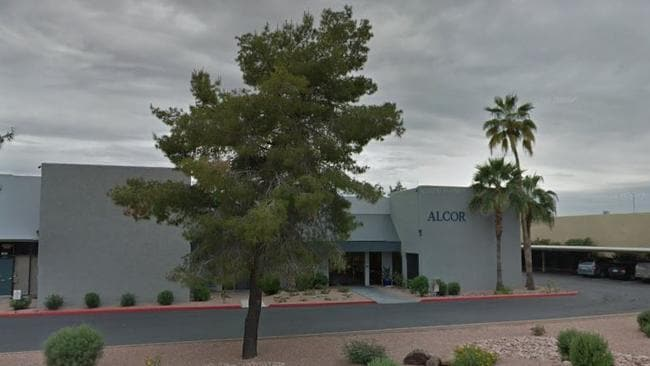 Inside the Alcor cryogenics facility in the Sonoran desert, the bodies of 146 humans are frozen in liquid nitrogen for the future. Picture: Google maps.