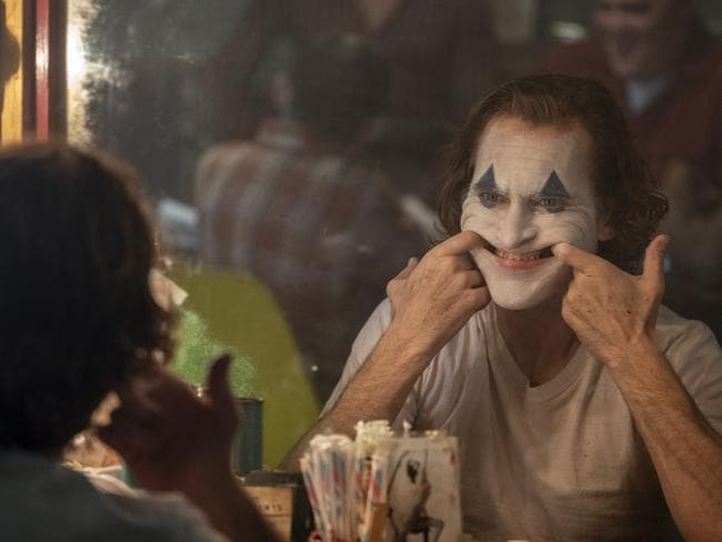 Joaquin Phoenix's performance in Joker has been compared to. Picture: AP