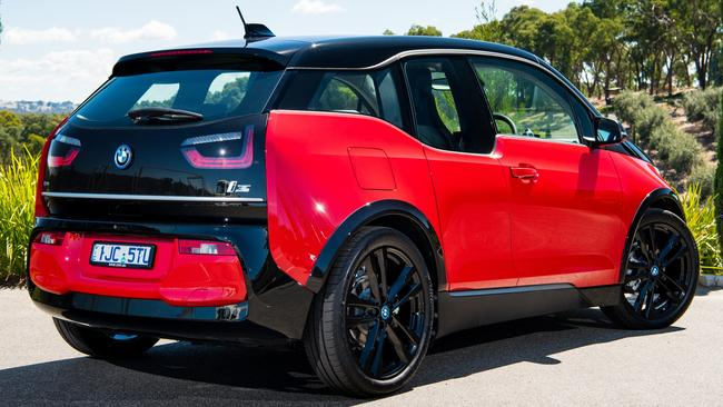 Broader beam: The rear conjures a wider, sportier look.