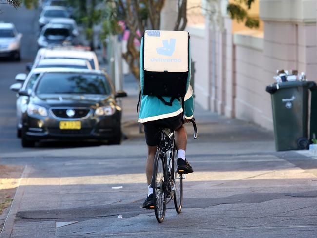 Riders have been spotted flouting the law and endangering pedestrians by cycling on footpaths and riding on the wrong side of the road. Picture: John Fotiadis
