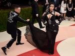 "Jeremy Scott and Nicki Minaj attend the ""Manus x Machina: Fashion In An Age Of Technology"" Costume Institute Gala at Metropolitan Museum of Art on May 2, 2016 in New York City. Picture: AFP"