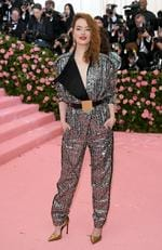 Emma Stone attends The 2019 Met Gala Celebrating Camp: Notes on Fashion at Metropolitan Museum of Art on May 06, 2019 in New York City. (Photo by Neilson Barnard/Getty Images)