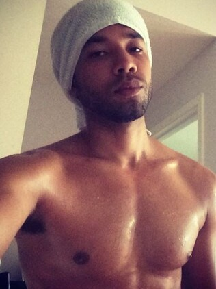 Empire star Jussie Smollett. Picture: Supplied