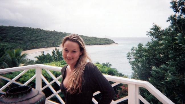 Ms Davies was Epstein's former personal masseuse. Picture: MEGA