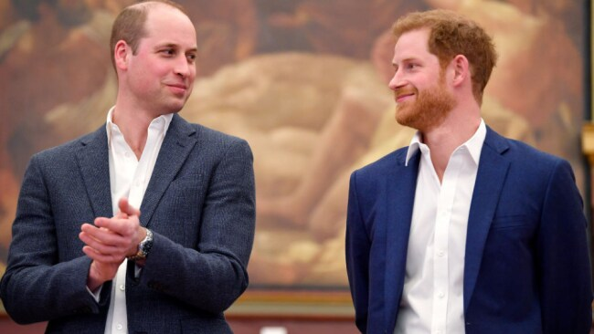 William and Harry worked together on the Royal Foundation for 10 years. Source: Getty Images
