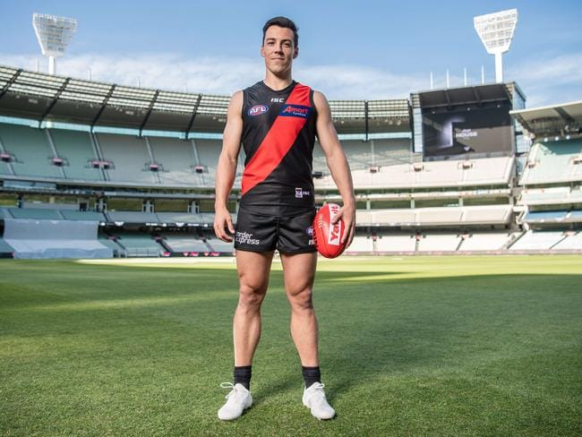 Dylan Shiel was a great pick-up for Essendon. Picture: Jason Edwards