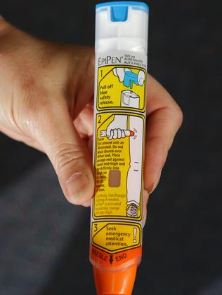 Epipens are also a must. Picture: Supplied