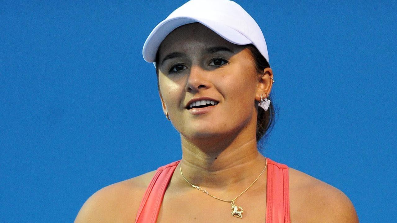 Arina Rodionova was steaming.