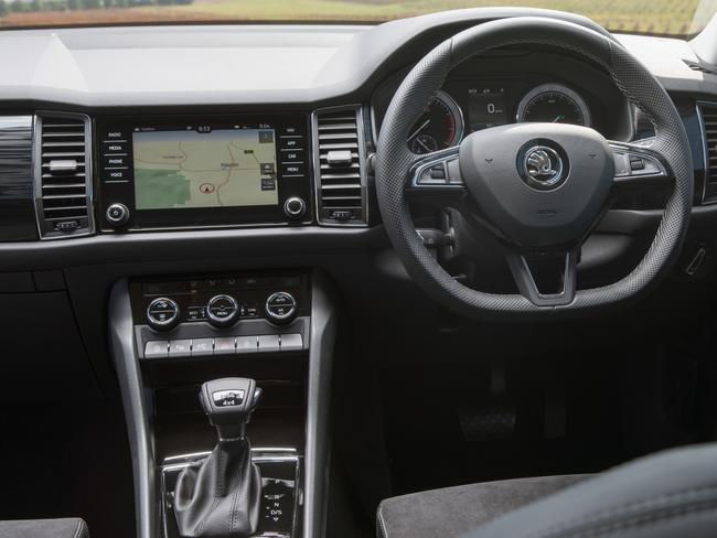 Interior features are among the best in this class.
