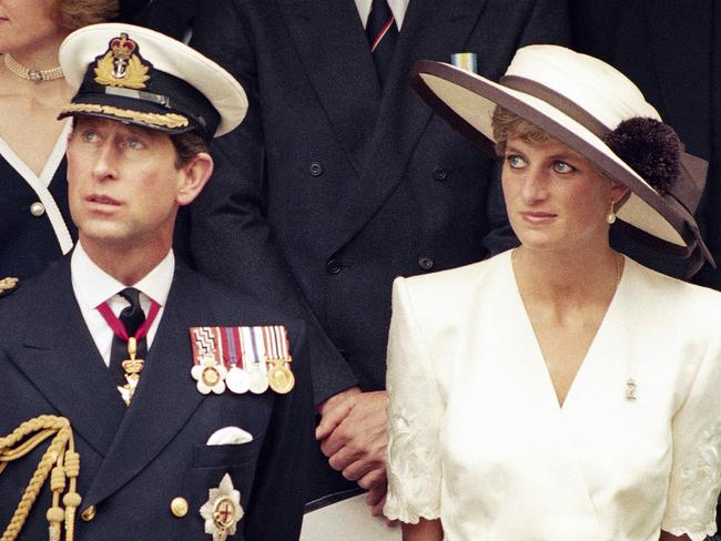 Prince Charles was also rumoured to have had an affair during his marriage to Diana. Picture: AP