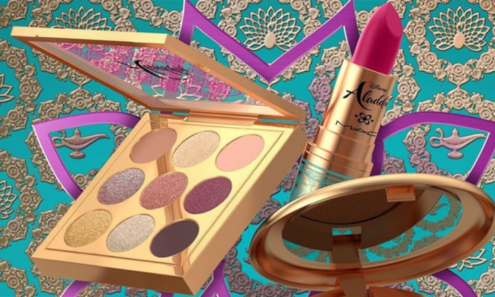 MAC's Aladdin make-up collection is more glittery than a Disney princess