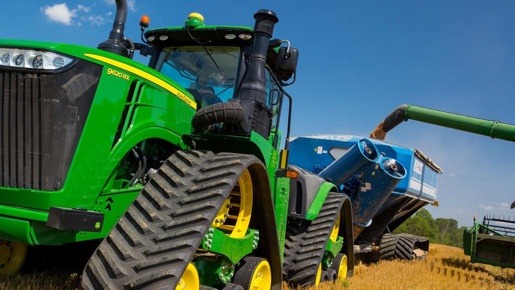 John Deere At The Very Top Of The Broadacre Tractor Market With 9rx