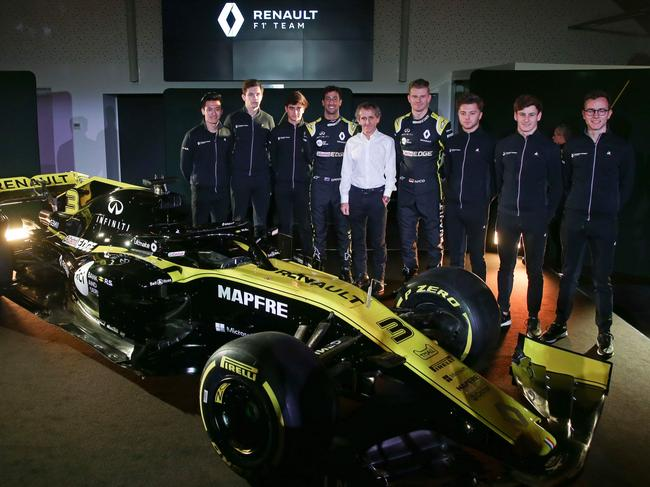 Renault is hoping for progress in 2019.
