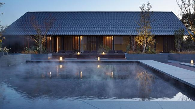 The most 'spoiling spa' has been won by Amanemu in Japan