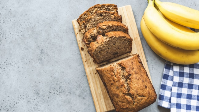Try making banana bread with the skin. Image: iStock.