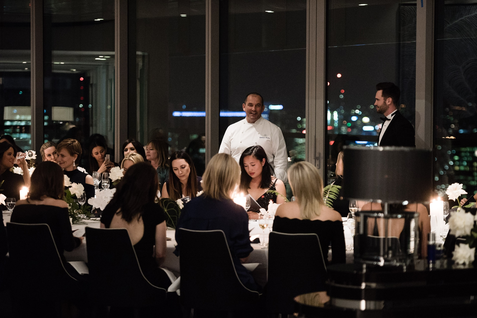 Inside the La Prairie skin caviar dinner