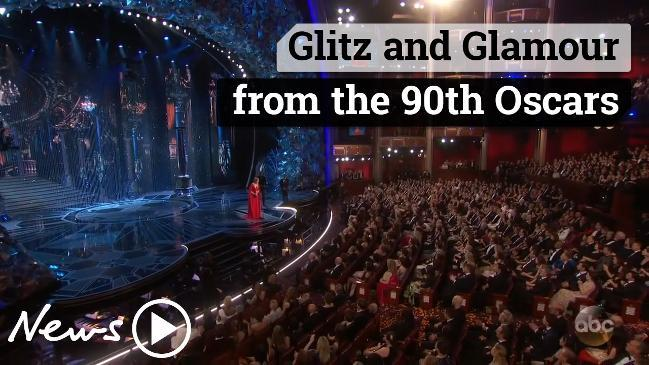Glitz and Glamour from the 90th Oscars