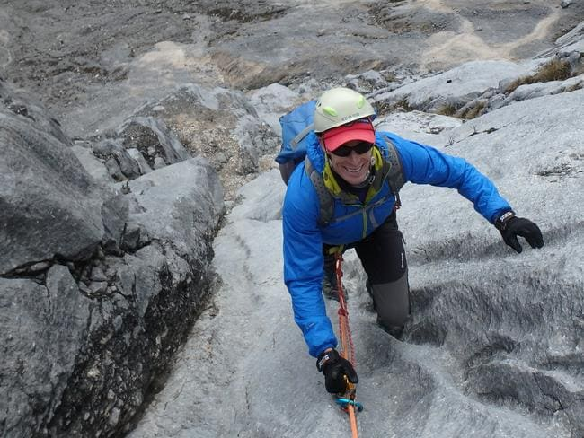 Steve spent years recovering, training and prepping to climb the Seven Summits.