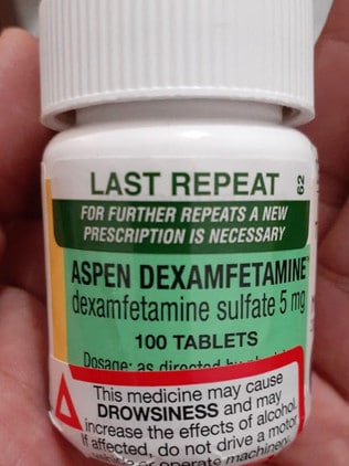 The pills are used to treat ADHD. Picture: Supplied