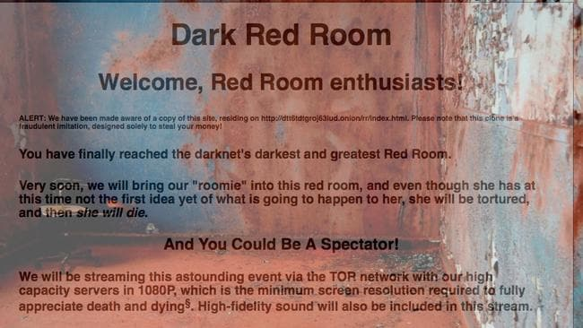 People running The Red Rooms rely on Bitcoin to fund their operations.