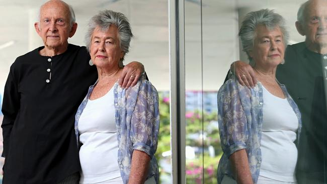 'Filled with hope, but disappointed' ... Juris and Lois will share a Christmas meal with Peter in prison.