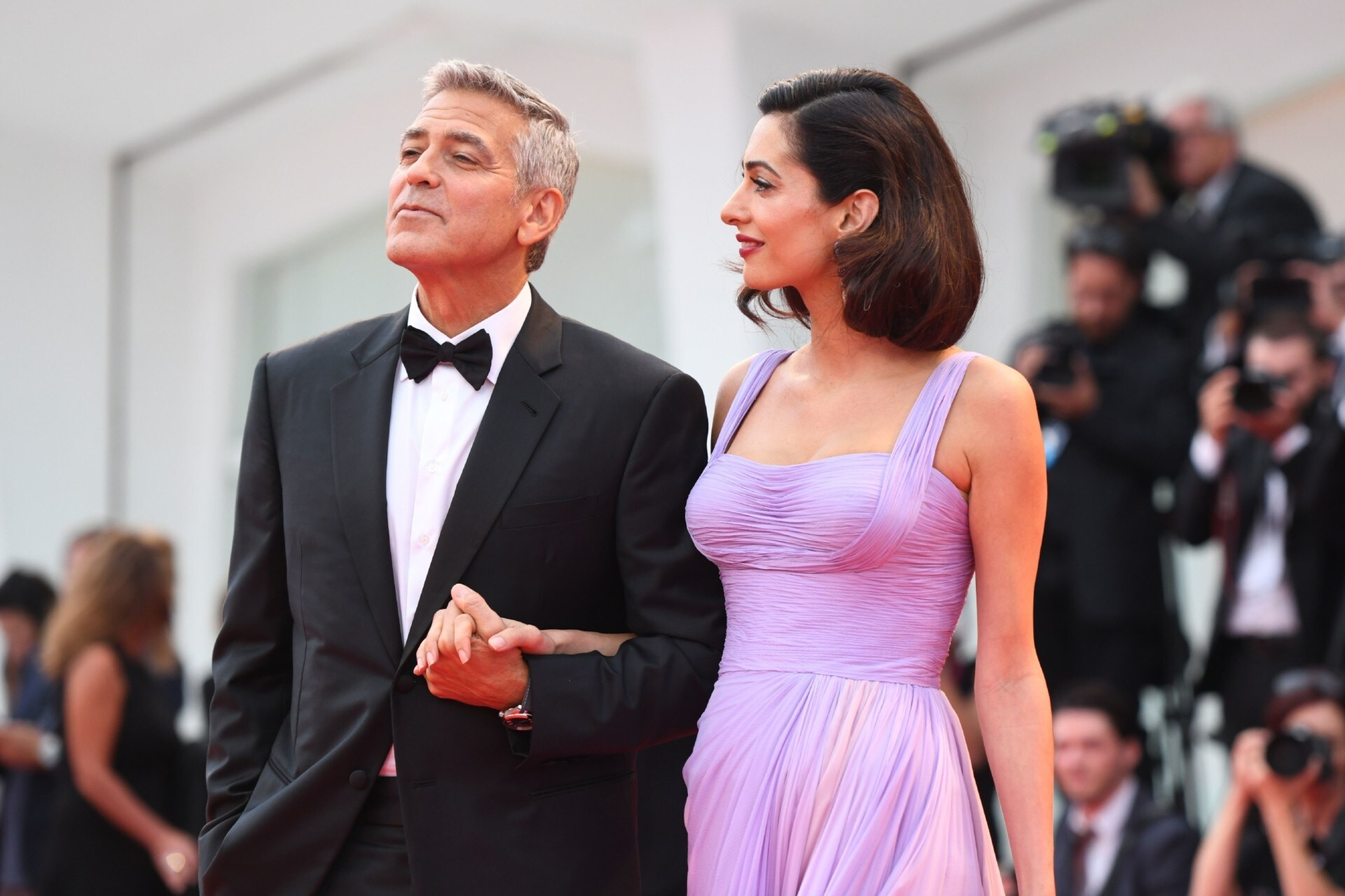 Exclusive: Get Amal Clooneys Wavy Bob From The Venice Film Festival Exclusive: Get Amal Clooneys Wavy Bob From The Venice Film Festival new photo