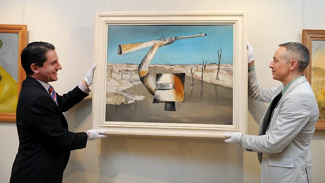 Sidney Nolan daughter puts Ned Kelly's head on the block