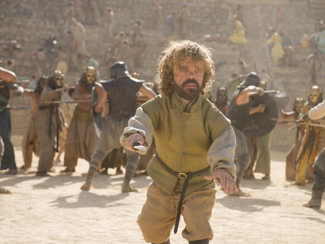 Tyrion Lannister somehow made it through until the end of Game of Thrones. Picture: HBO
