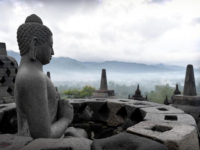 Borobudur, near Yogyakarta in Central Java, looks worth a visit. Picture: Naomi Jellicoe