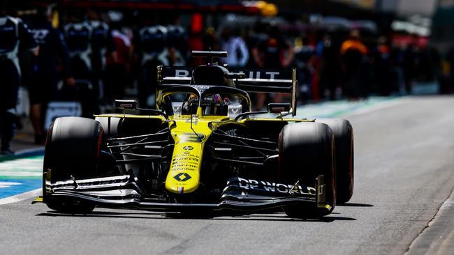 F1 2020: Daniel Ricciardo best Renault result after 'sketchy' escape at British  GP