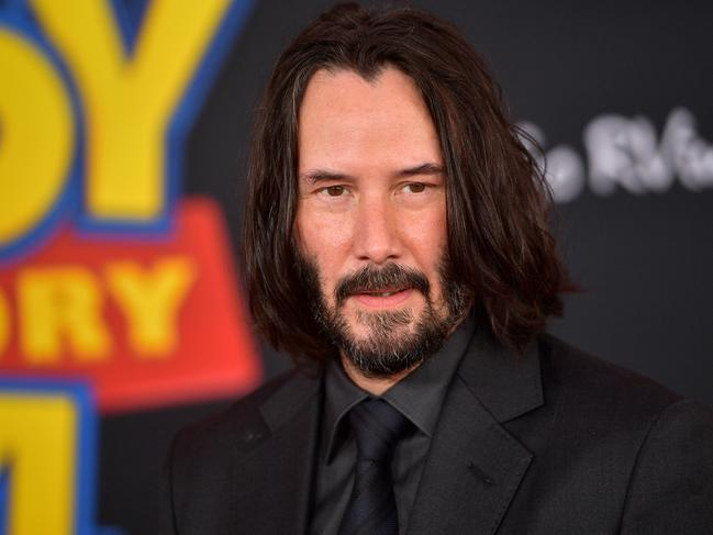 Keanu Reeves is 2019's breakout movie star. Picture: Matt Winkelmeyer/Getty Images.