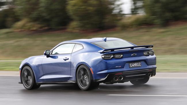 The Camaro ZL1 has serious performance