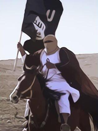 Recruitment drive ... Islamic State has a sophisticated video production unit.