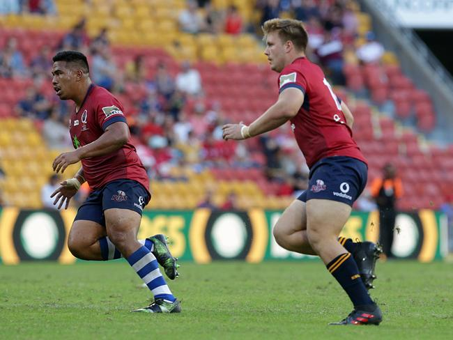 Hoopert was given his Super Rugby debut by Reds coach Brad Thorn.