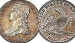 The 1838-O Capped Bust Half Dollar is one of only nine that are known to exist. Picture: Stack's Bowers Galleries