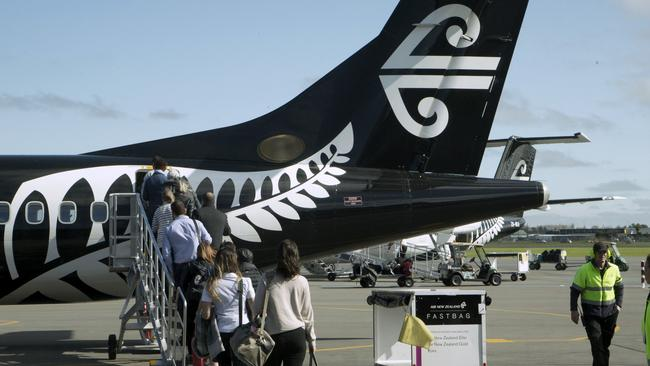 An Air New Zealand plane was forced to turn around on the weekend over suspicions that China was displeased about the airline's view of Taiwan. Picture: AAP