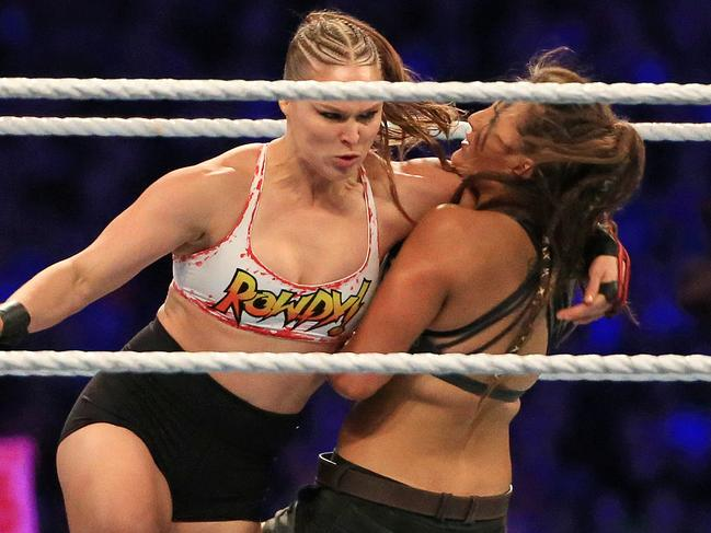 Ronda Rousey needs a new hook.