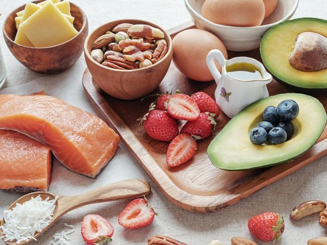Keto foods are high in fat and low in carbohydrates.