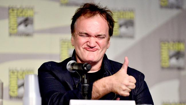Quentin Tarantino attends Dynamite 10th Anniversary Panel at Comic Con International 2014 at San Diego Convention Center.