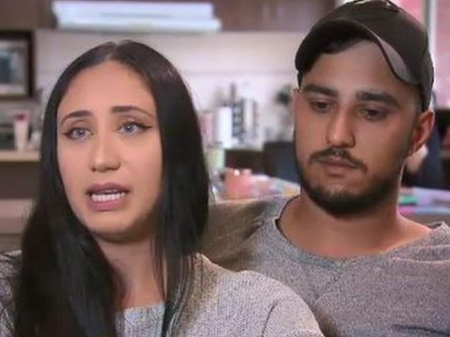 Sarah and Muhammed said they were 'attacked for looking ethnic'.