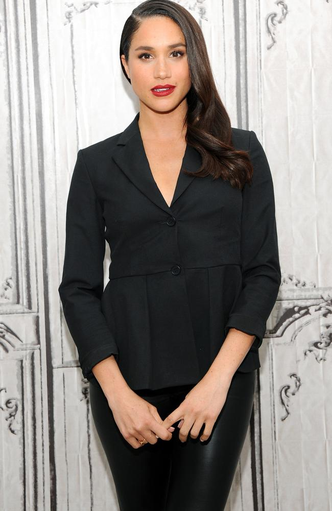 Actor Meghan Markle wanted to work in the US State Department before taking up her role. Picture: Desiree Navarro/WireImage