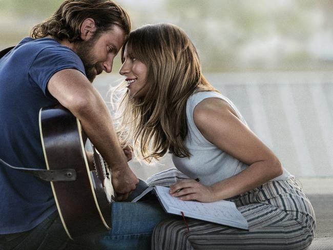 A Star is Born scored the most nominations with four. Picture: AP