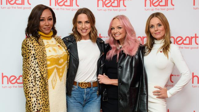 One project definitely happening: A Spice Girls animated movie is in the works. Picture: Matt Crossick/PA Wire