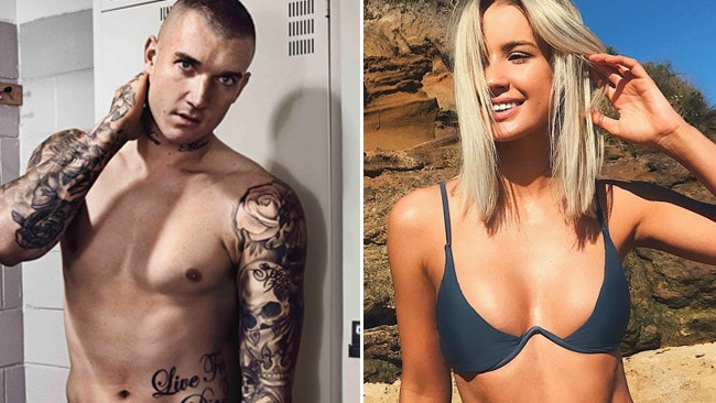 Journo's dust-up over Dusty's 'girlfriend'