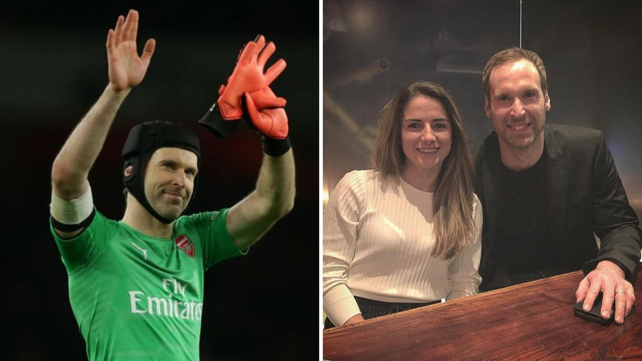 Petr Cech took the entire Arsenal women's team out for dinner.