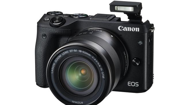 Lightweight offering ... Canon's EOS M3 comes in a lighter body for greater mobility.