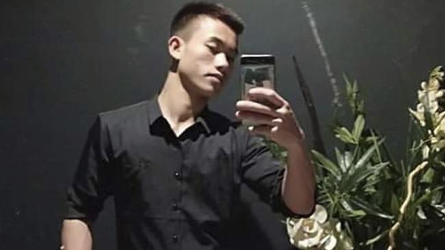 Nguyen Dinh Luong, 20, posing for a selfie. Luong's family believes that he may be among the 39 people found dead in the back of a container truck in southeastern England. Picture: AP.